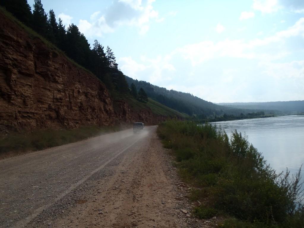 Lena river ride from Zhigalovo.