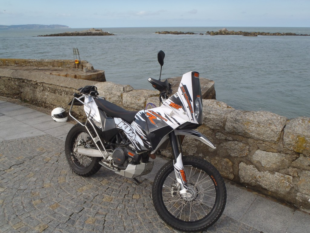 Kev's KTM 690 before the trip.