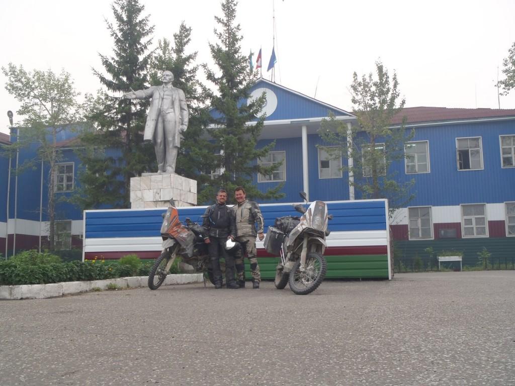Lenin at Kandyga
