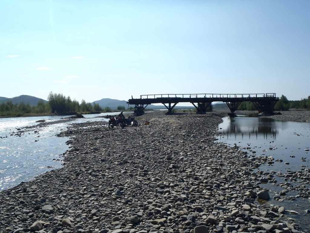 Kyubyume river crossing