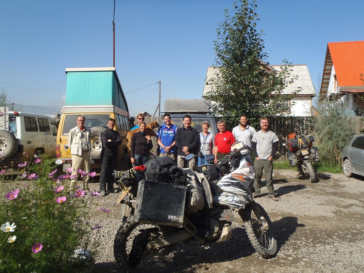 Leaving Oasis Ulaan Baatar.