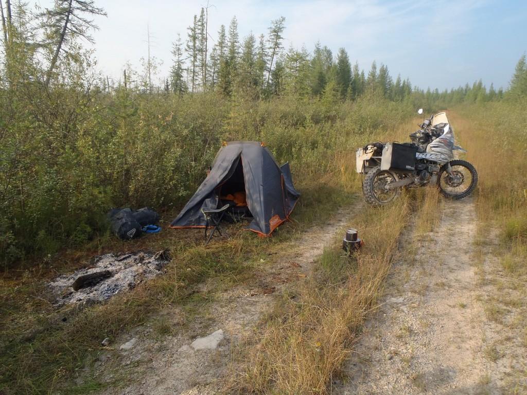 M56 Lena highway 1st campsite.
