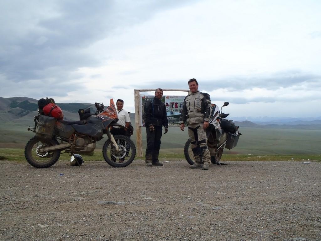 Mountain pass near Russian border.