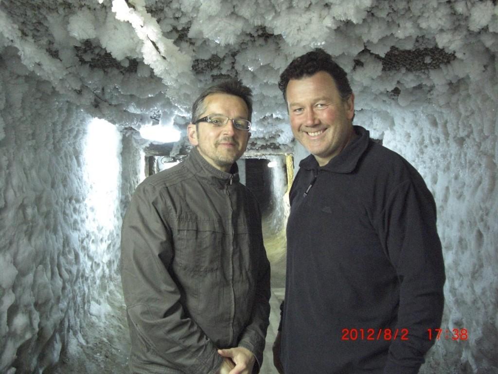 At the Permafrost Museum Yakutsk.