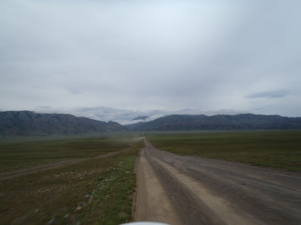 On the way to Russian Border.