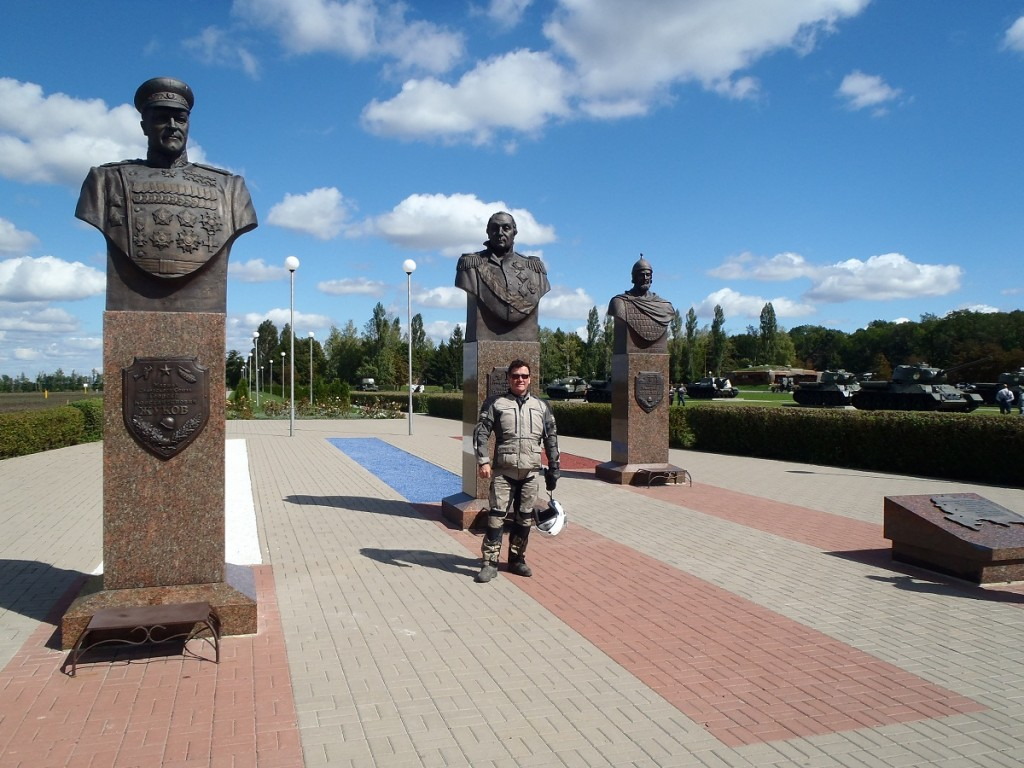 War Memorial Statues.