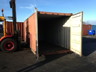 Container arrived for 2014 trip