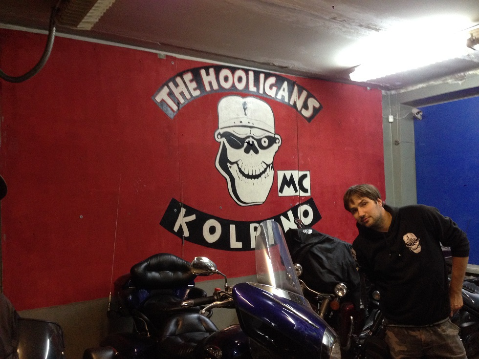 Kolpino Hooligans Biker Club.